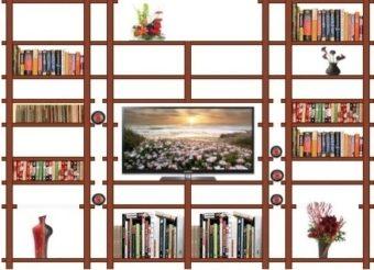 LCD-books-DVD